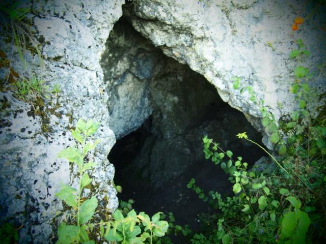 Kajasówka, Jaskinia Przegińska