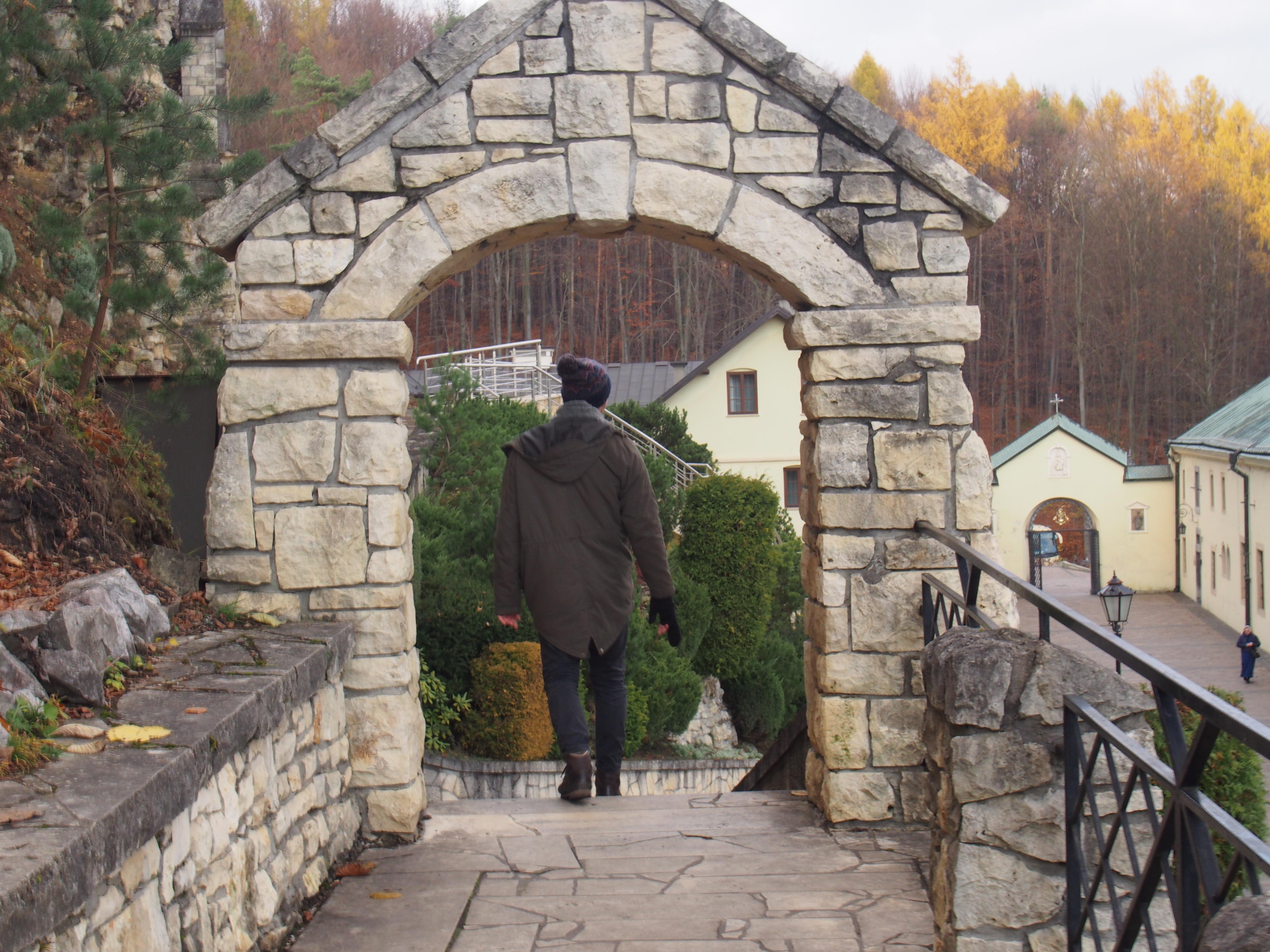 Droga Krzyżowa, Klasztor Karmelitów Bosych w Czernej