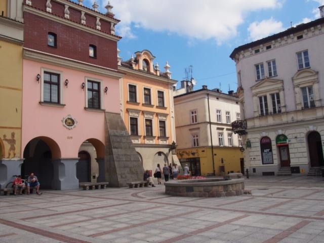 Rynek w Tarnowie, kamienice
