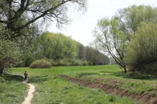 Ścieżka wzdłuż Dłubni