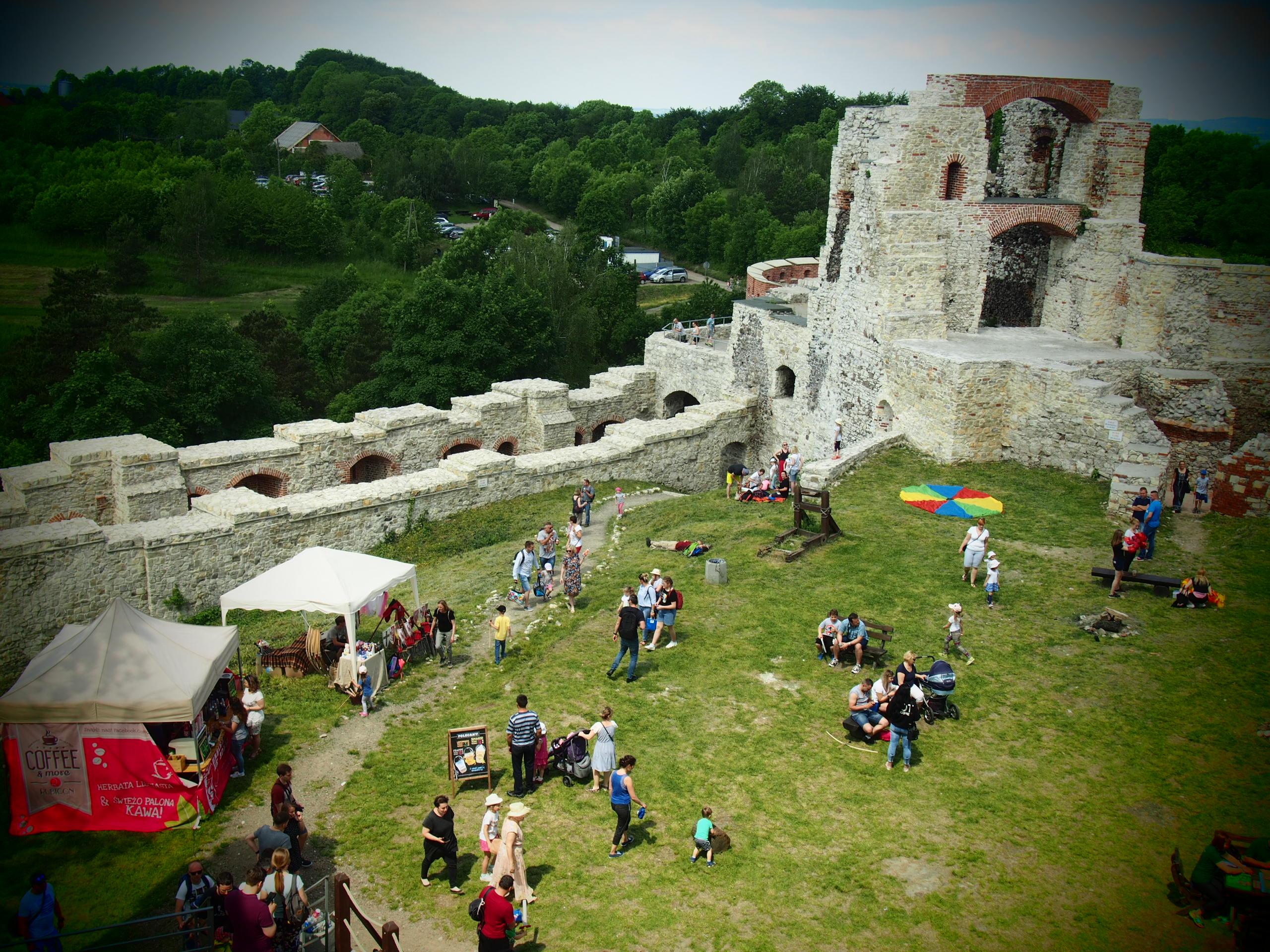Zamek Tenczyn, Puszcza Dulowska i Staw Wroński