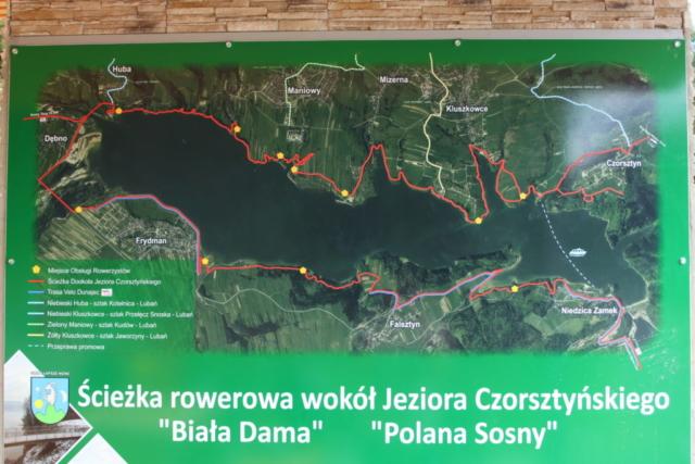 Mapa Velo Czorsztyn